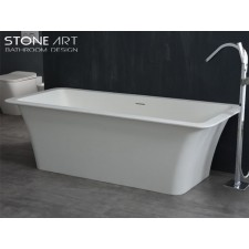 Freistehende Design Badewanne aus Mineralguss Louth