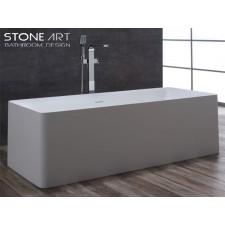 Freistehende Design Badewanne aus Mineralguss Kinsale