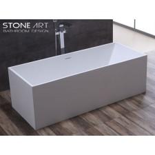 Freistehende Design Badewanne aus Mineralguss Derry