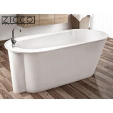 Freistehende Design Badewanne aus Mineralguss Ceres