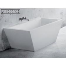Freistehende Design Badewanne aus Mineralguss Elbrus 1