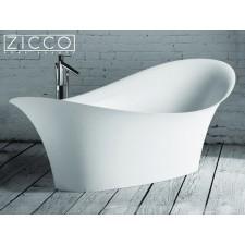 Freistehende Design Badewanne aus Mineralguss Gaudi I