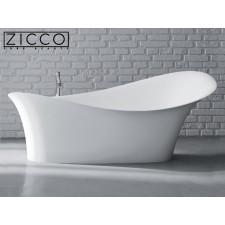 Freistehende Design Badewanne aus Mineralguss Gaudi II