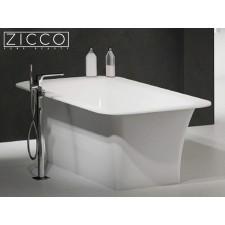 Freistehende Design Badewanne aus Mineralguss Sentio 1