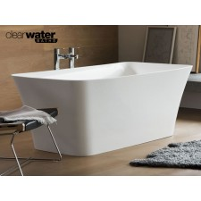 Freistehende Badewanne aus Clearstone Palermo Petite