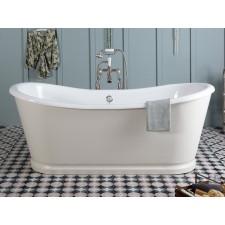 Freistehende Gusseisen Badewanne Rochester Large