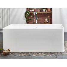 Freistehende Design Badewanne aus Mineralguss Cabanes