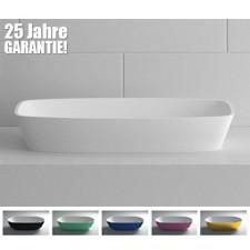 Design Mineralguss Aufsatz-Waschbecken Geo