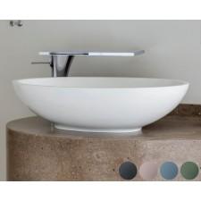 Mineralguss Aufsatz-Waschbecken Gio