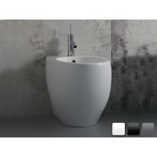 Keramik Bidet-Becken Ovo bodensetehend