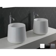 Keramik Aufsatz-Waschbecken Catino 40