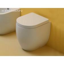Keramik WC-Becken Flo wandbündig Small