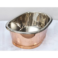 Aufsatz-Waschbecken Copper / Nickel