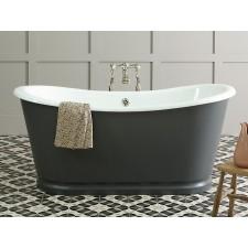 Freistehende Gusseisen Badewanne Rochester