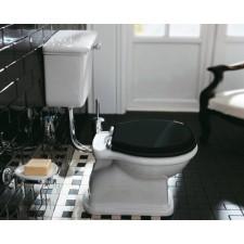 Nostalgie Keramik WC-Becken Latium mit hängendem Spülkasten