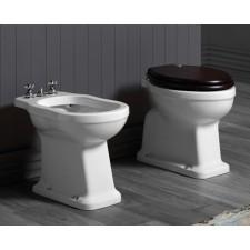 Nostalgie Keramik WC-Becken Legano