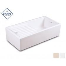 Shaws Keramik Küchenspüle Longridge