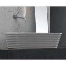 Keramik Design Aufsatz-Waschbecken Loom Large