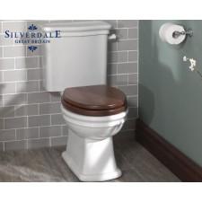 Nostalgie WC-Becken Loxley mit aufgesetztem Spülkasten