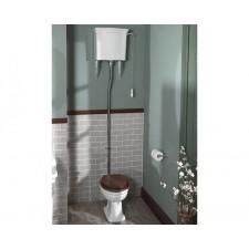 Nostalgie WC-Becken Loxley mit hochhängendem Spülkasten