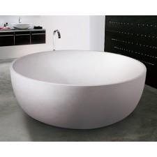 Freistehende Design Badewanne aus Mineralguss Oasis XL