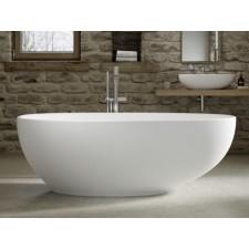 Freistehende Design Badewanne aus Mineralguss Mississippi 1600