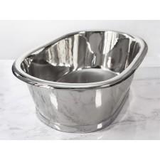 Aufsatz-Waschbecken Nickel