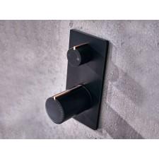 Design 2-Wege Unterputz Duscharmatur Velar