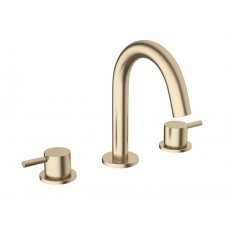Design Dreiloch Waschtischarmatur Mike PRO Brass