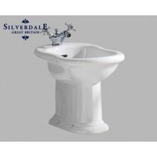 Nostalgie WC-Becken Belgravia mit hoch hängendem Spülkasten