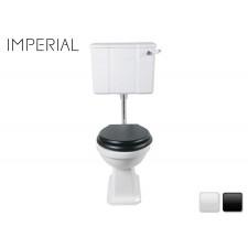 Nostalgie Keramik WC-Becken Chelsea mit hängendem Spülkasten
