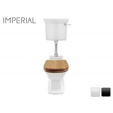 Nostalgie Keramik WC-Becken Radcliffe mit hängendem Spülkasten