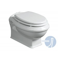 Nostalgie Keramik WC-Becken Spülrandlos Astoria wandhängend