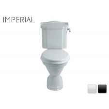 Nostalgie Keramik WC-Becken Drift aufgesetztem Spülkasten