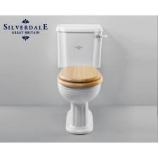 Nostalgie WC-Becken Belgravia mit aufgesetztem Spülkasten