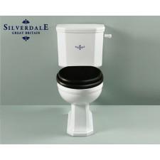 Nostalgie WC-Becken Empire mit aufgesetztem Spülkasten