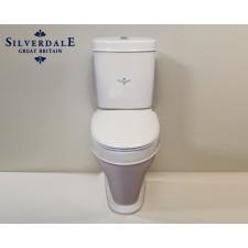 Nostalgie WC-Becken Highgrove mit aufgesetztem Spülkasten