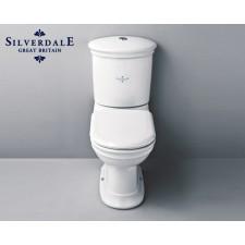Nostalgie WC-Becken Hillingdon mit aufgesetztem Spülkasten