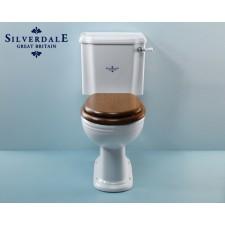 Nostalgie WC-Becken Victorian mit aufgesetztem Spülkasten