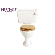 Nostalgie Keramik WC-Becken Dorchester mit aufgesetztem Spülkasten