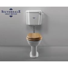 Nostalgie WC-Becken Belgravia mit hängendem Spülkasten