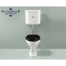 Nostalgie WC-Becken Empire mit hängendem Spülkasten