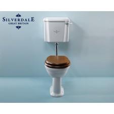 Nostalgie WC-Becken Victorian mit hängendem Spülkasten