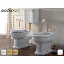Keramik WC-Becken mit hängendem Spülkasten Palladio Antik Retro Traditionell