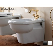 Keramik Bidet-Becken zur Wandmontage Palladio Antik Retro Traditionell