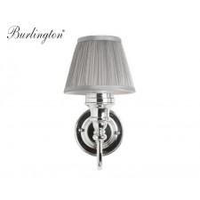 Nostalgie Badezimmer-Lampe Silver Pleat Curved Traditionell Antik Retro Nostalgie