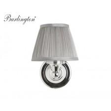 Nostalgie Badezimmer-Lampe Silver Pleat Straight Traditionell Antik Retro Nostalgie