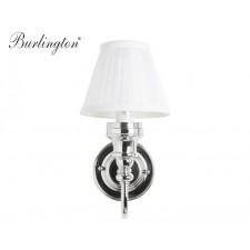 Nostalgie Badezimmer-Lampe White Pleat Curved Traditionell Antik Retro Nostalgie