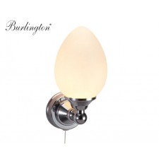 Retro LED-Badezimmer-Lampe Burlington Oval Oval Traditionell Antik Retro Nostalgie