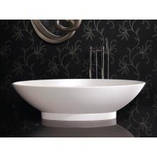 Ausführung  Die Badewanne ist in Weiß glänzend oder Weiß matt (Aufpreis 200,00 €) wählbar.  Ausstattung  Ohne Überlauf. Ablaufgarnitur und Siphon müssen separat bestellt werden.